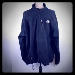 The North face softshell jacket black